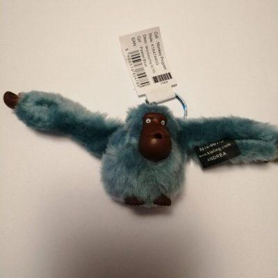 Kipling Andrea monkey in pastel blue