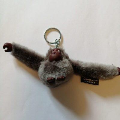 Kipling Cristina monkey in warm stone