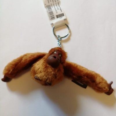 Kipling Caridad monkey in ochre
