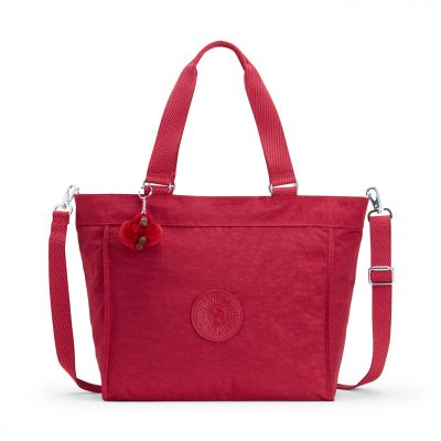 Kipling New Shopper L in Radiant Red