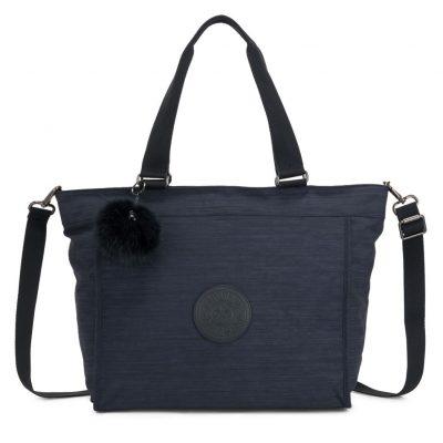 Kipling New Shopper L in Blue Purple