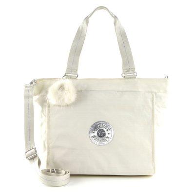 Kipling New Shopper L in Dazz White