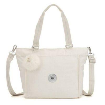 Kipling New Shopper S in Dazz White